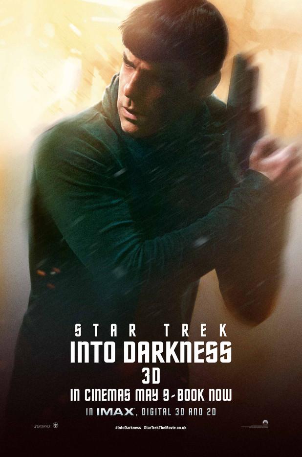 Star Trek Into Darkness Spock Poster 2