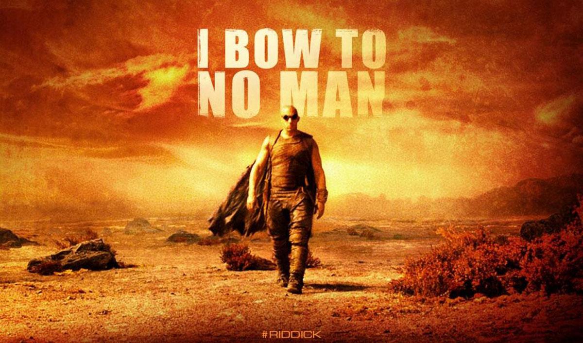 Riddick Banner Poster