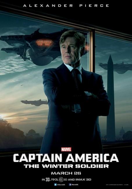 Captain America Alexander Pierce