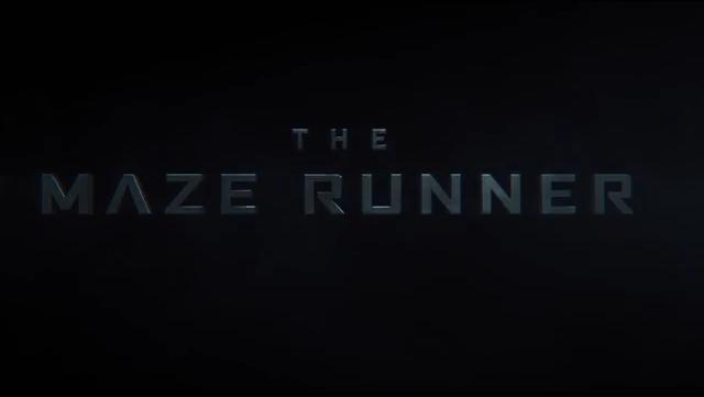 The Maze Runner title card