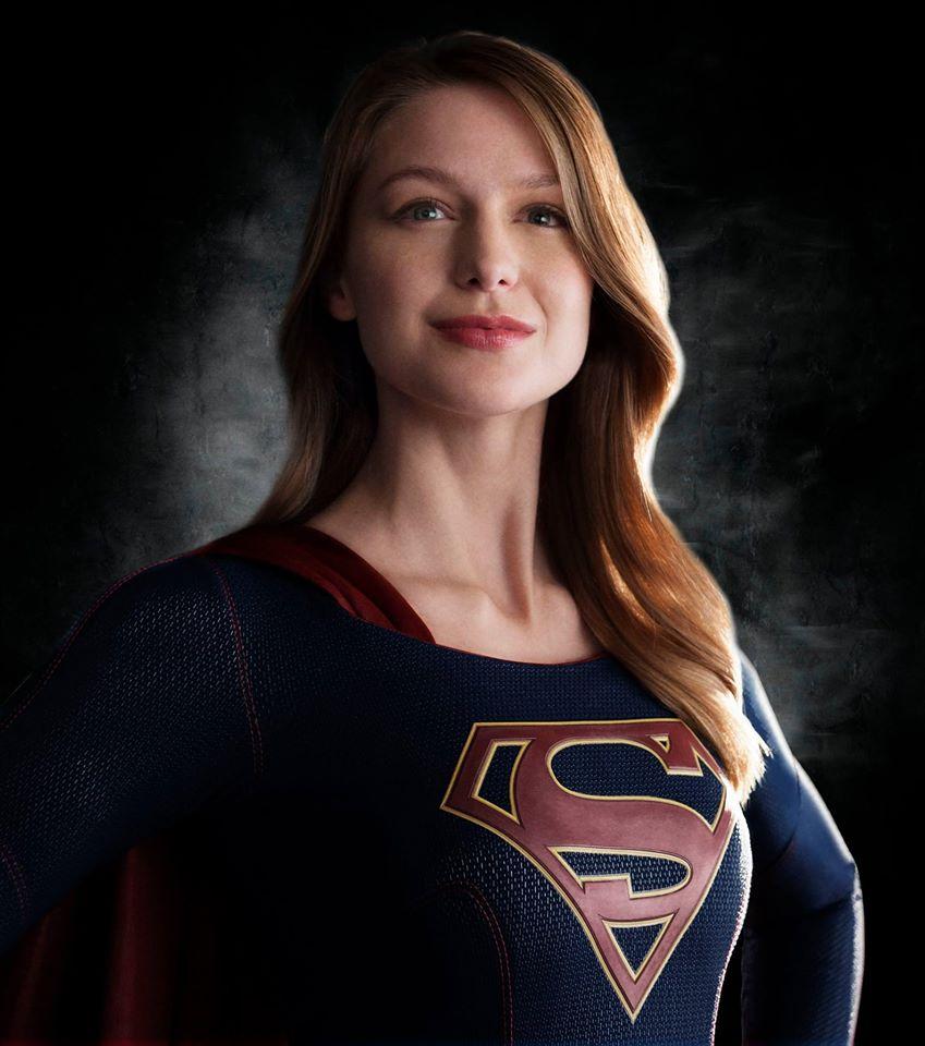 Supergirl Melissa Benoist close up