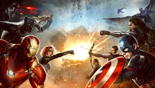 civil war concept poster