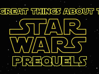 10 great things about the Star Wars prequels