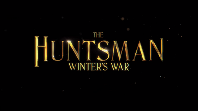 The Huntsman Winters War title card