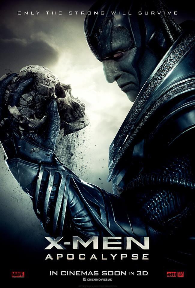 X-Men Apocalypse character poster