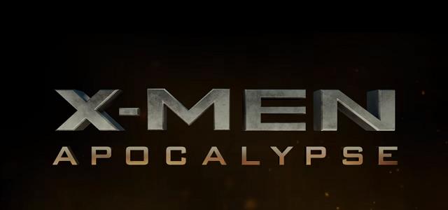 X-Men Apocalypse title card