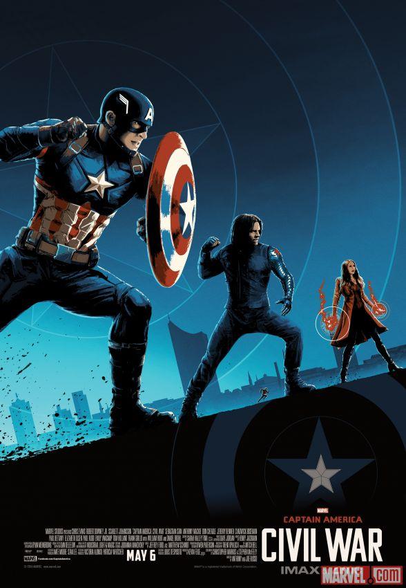 Captain America Civil War Imax poster 1