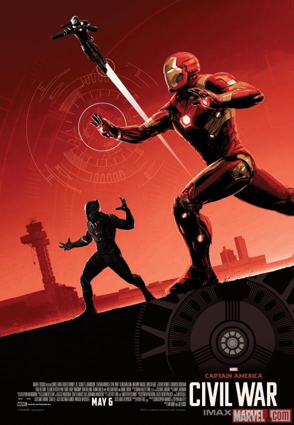 Captain America Civil War Imax poster 2
