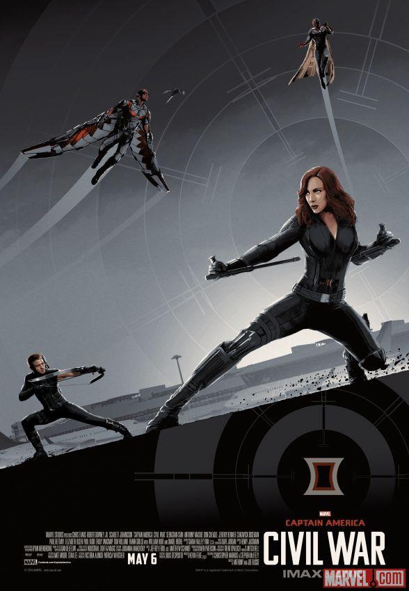 Captain America Civil War Imax poster 3