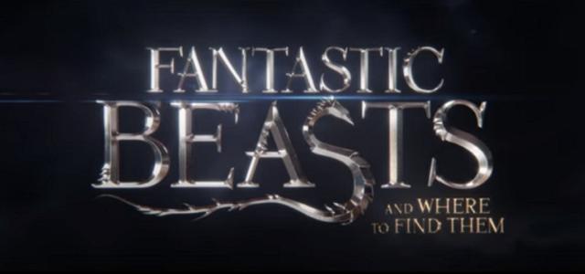 Fantastic Beasts title card