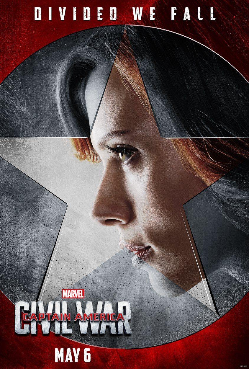 Team Iron Man Black Widow