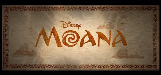 Moana title card